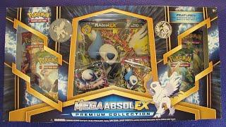 Mega Absol EX Premium Collection Box Opening