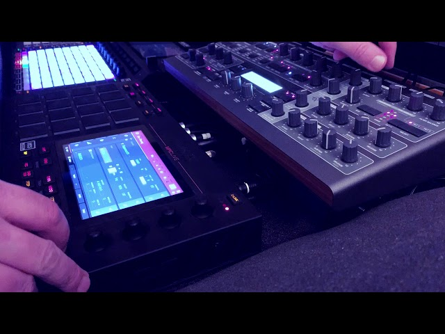 Akai MPC Live vs Access Virus - Progressive Melodic House EDM Trance Performance Jam