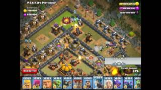 Clash Of Clans Modded Apk (shows Second Gift In Christmas)unlimited Troops And Resources
