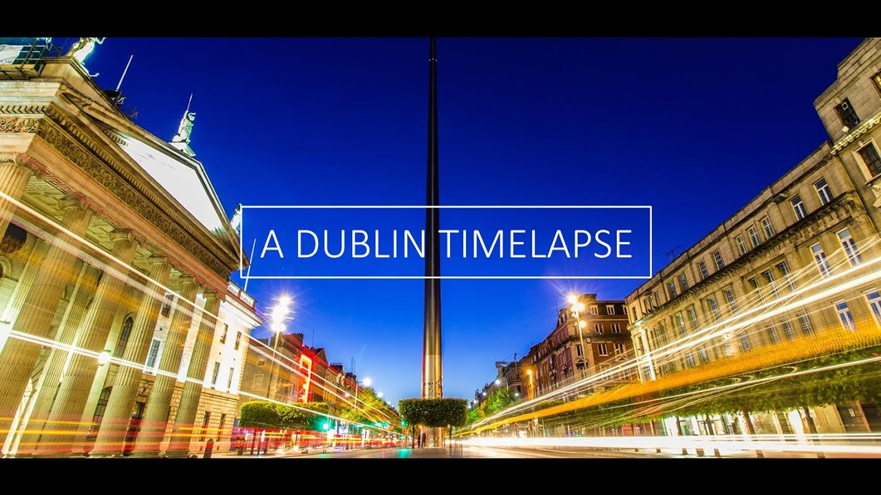 a dublin time lapse at night hd 1080p youtube. Black Bedroom Furniture Sets. Home Design Ideas