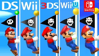 Evolution of Mario Hitting the Top of the Flagpole (1985-2020)