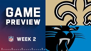 New Orleans Saints vs. Carolina Panthers   Week 2 NFL Game Preview