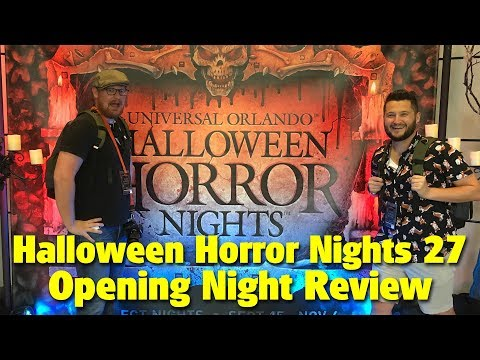 Halloween Horror Nights 27 Opening Night Review | Universal Studios Florida