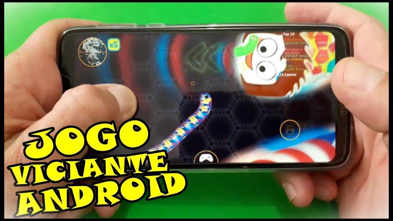 Jogo Viciante Para Android Que Você Vai Adorar Wormate.io As Minhocas Que Comem Doces