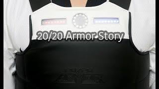 20/20 Armor  - Revolutionary New Electronic Taekwondo Chest Guard and Scoring System