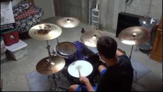 SBTRKT - Trials of the Past Drum Cover - Connor Hughes