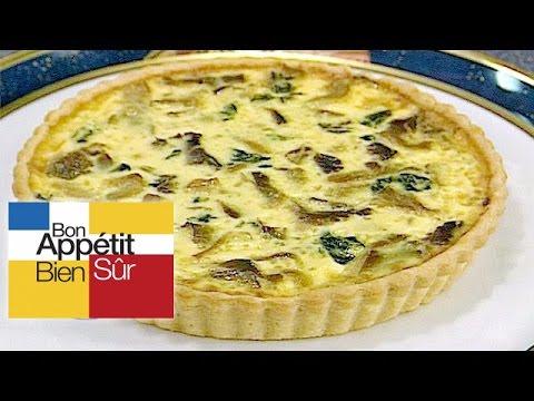 quiche-de-pleurotes-aux-épinards-[recette]