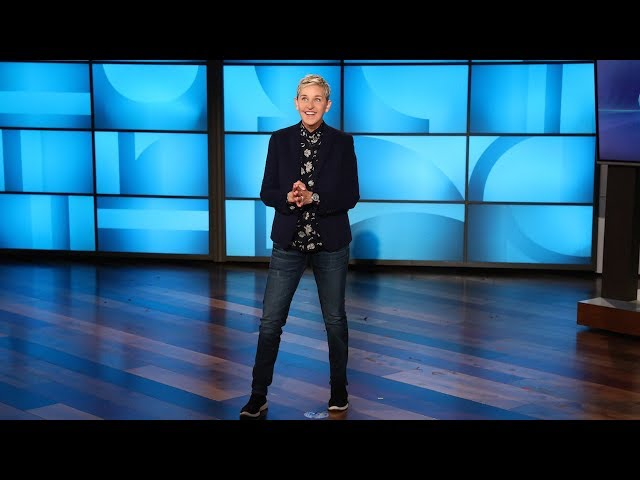 Ellen Still Wont Stop Trying to Save the Elephants