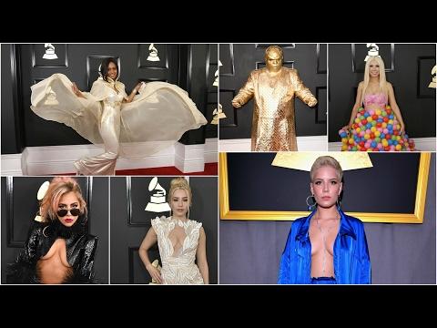 Grammys 2017 red carpet's worst dressed stars revealed | Worst ever Grammy fashion disasters