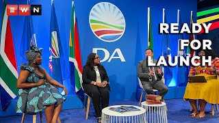 The Democratic Alliance's party leader John Steenhuisen, head of policy Gwen Ngwenya and programme director Karabo Khakhau briefed the media on 23 September 2021 on their state of readiness for the launch of the party's manifesto on 25 September 2021. Steenhuisen emphasised that in order for the party to effect any tangible change in Gauteng, it would need the voters to allow it to have an uninterrupted 5-year term of majority rule over the metros.  #DemocraticAlliance #ElectionManifesto #LocalGovernmentElection #IEC