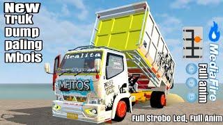 Download lagu Top 4 Mod truk Full muatan Full oleng, spesial Mod truk dump