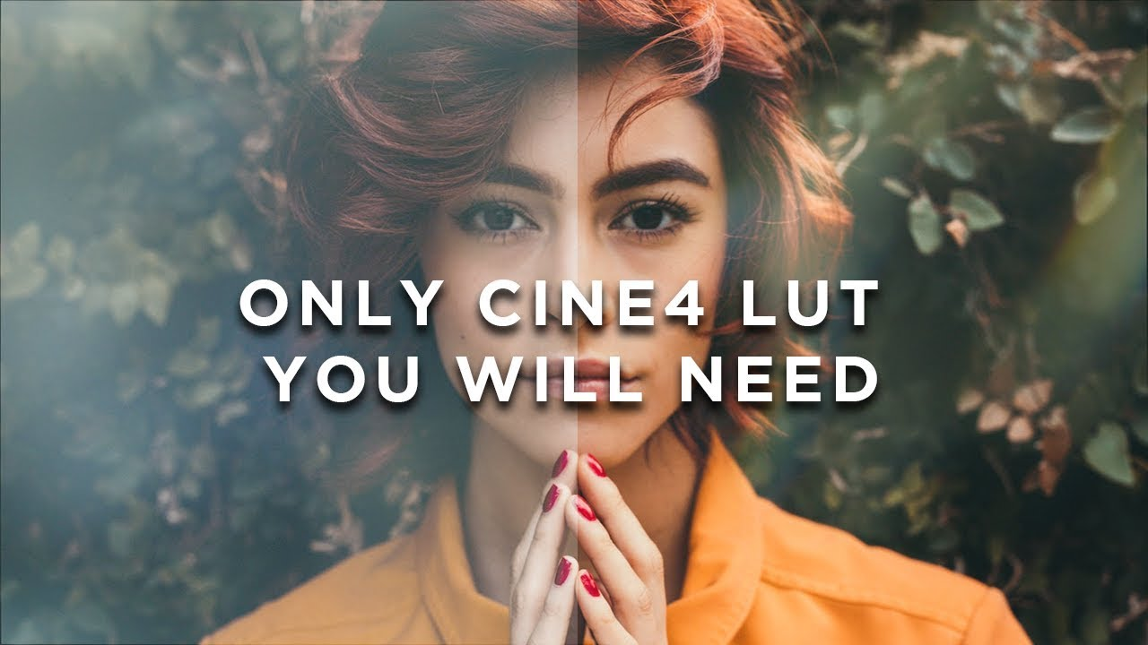 The Only LUT you need to Color Correct CINE4 Picture Profile + 15K  Subscriber Giveaway