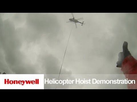 BK117-850D2 Hoist Demonstration | Helicopters | Honeywell Defense and Space