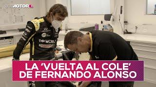 Fernando Alonso vuelve al trabajo con Renault | SoyMotor.com
