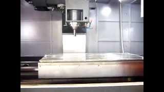 Вертикальный фрезерный обрабатывающий центр Winner VMC-L1601. Video3.
