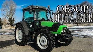 Трактор DEUTZ-FAHR AGROFARM 115G Обзор