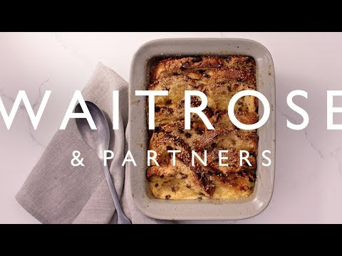 Panettone Bread & Butter Pudding | Waitrose & Partners
