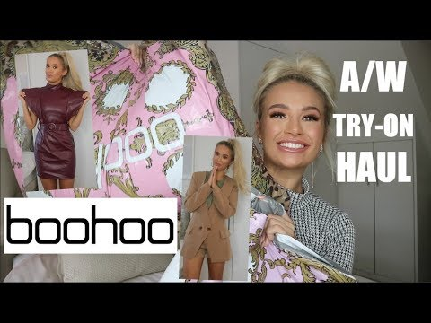 [VIDEO] - BOOHOO AUTUMN/WINTER TRY ON HAUL | OCTOBER 18 1