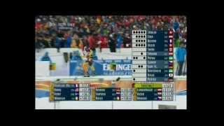 Biathlon WM in Ruhpolding 2012 Verfolgung der Männer