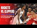 Final 2 Minutes of Rockets vs. Clippers Thriller | Nov. 22, 2019