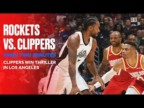 Final 2 Minutes of Rockets vs. Clippers Thriller | Nov. 22, 2019