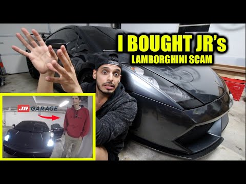 I BOUGHT JR'S GARAGE LAMBORGHINI SCAM CAR!