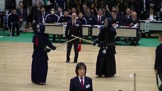 第73回国民体育大会剣道競技北海道予選会 成年男子副将の部 角広人 対 栄花直輝