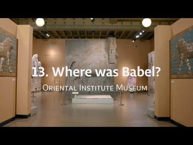 Exploring IGH: 13. Where was Babel?