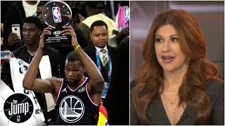 Is Kevin Durant -- not Steph, LeBron or Giannis -- the best player in the NBA right now? | The Jump