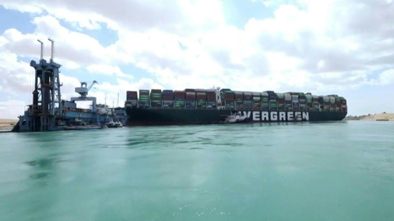 Encalhe no Canal de Suez - 2