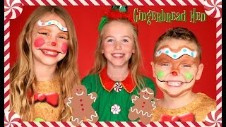 Gingerbread Man Makeup and Costume