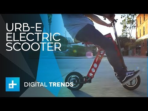 URB-E Electric Scooter - Hands On