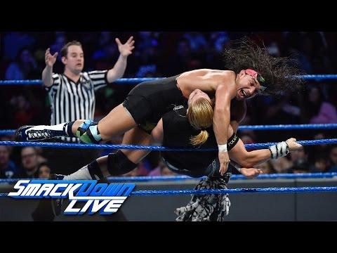 Chad Gable vs. Tyler Breeze: SmackDown LIVE, Dec. 6, 2016