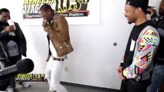 Rich Homie Quan The Quan and Milk Marie Dance To Chewy On Buck TV