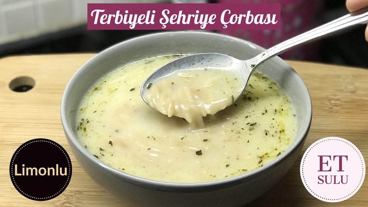 Terbiyeli Şehriye Çorbası