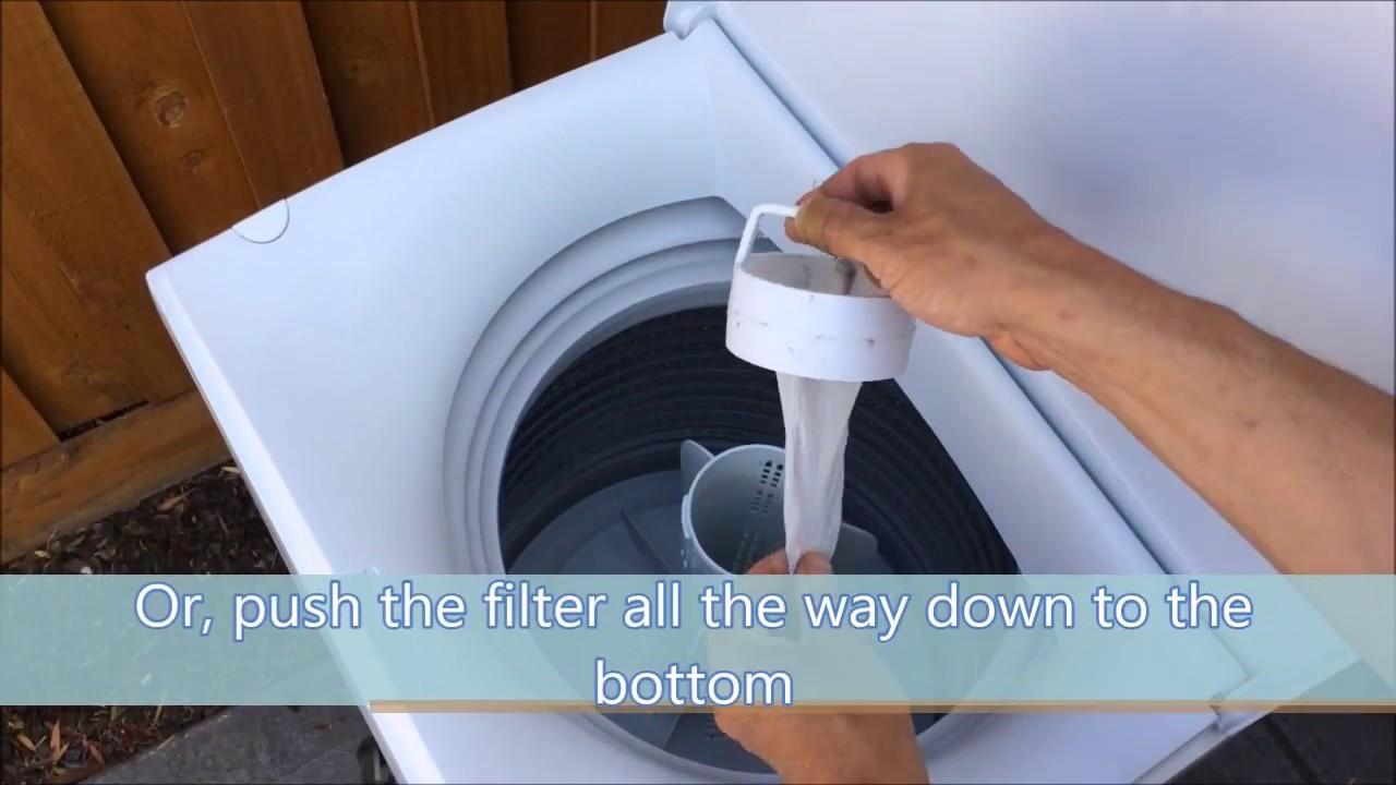 Top Loader Lint Filter Service You