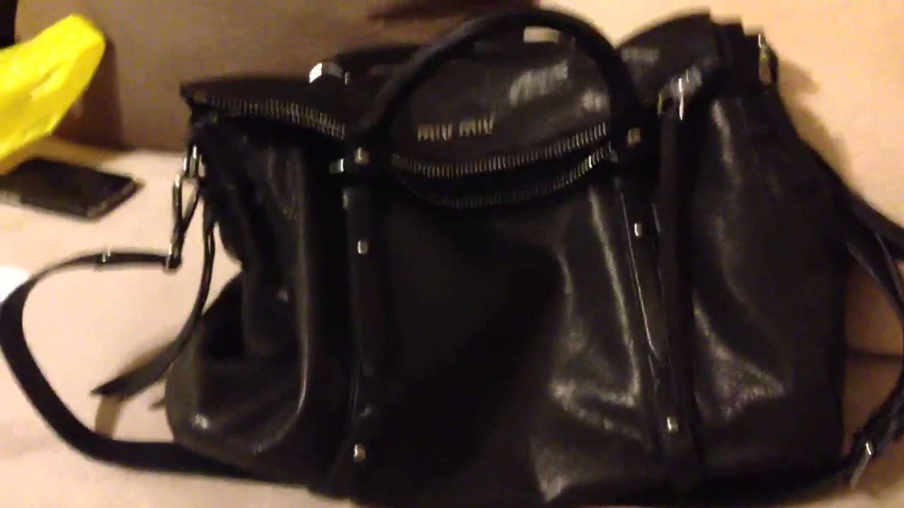 My new miu miu bag 2013 - YouTube 175504f8e3adb