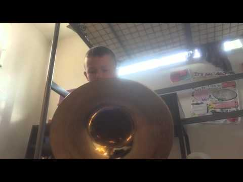 My giant tuba sounds weird