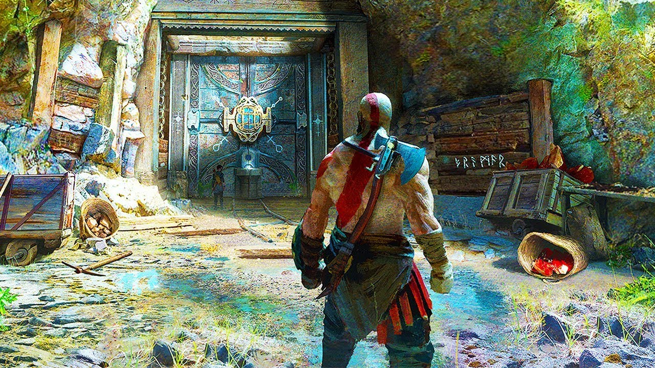 GOD OF WAR PS4 - ALL 18 Minutes of Gameplay So Far (PS4 2018) God