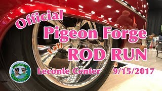 Epic Official Pigeon Forge Rod Run Fall 9/15/2017 Leconte Center