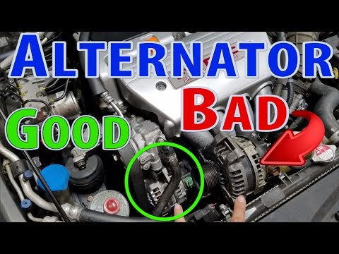 Acura TSX Alternator Replacement