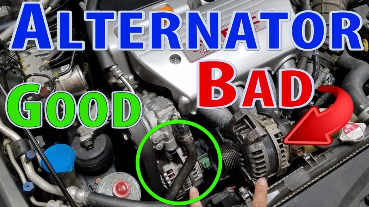 acura tsx alternator replacement youtube rh youtube com 2006 Acura TSX Serpentine Belt Red 2004 Acura TSX Mods