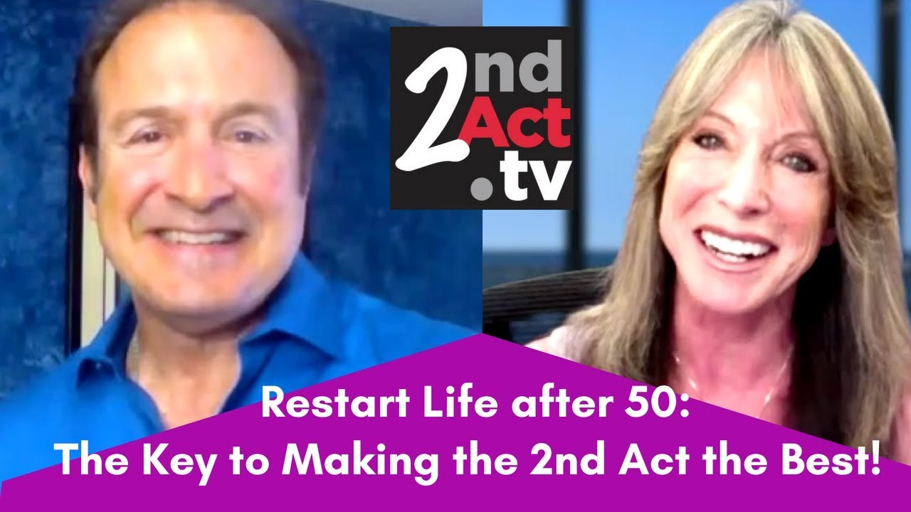 How to start your life over at 50