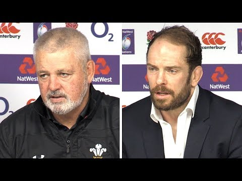 England v Wales - Warren Gatland & Alun Wyn Jones Full Post Match Press Conference - Six Nations