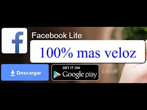 descargar facebook lite apk android