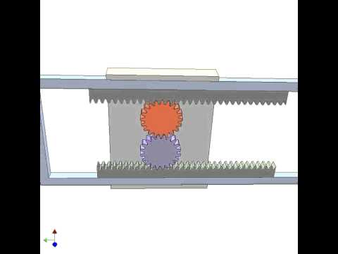 Application Of Rack Pinion Mechanism 4 Youtube