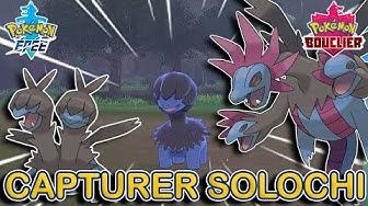 Capturer Solochi, Diamat et Trioxhydre | Pokémon Épée et Bouclier