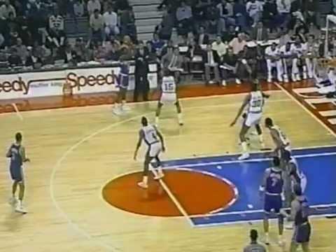 1990-91 Regular Season Knicks@Pistons