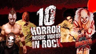 10 Horror Music Videos In Rock | Rocked