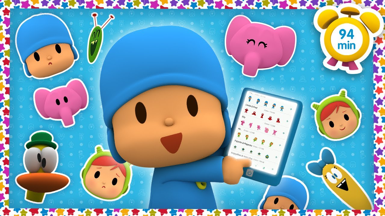 🗣 POCOYO in ENGLISH - Express your feelings [94 min] | Full Episodes | VIDEOS & CARTOONS for KIDS